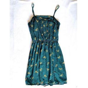 Cute Teal Spring Dress
